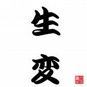Renascimento de caligrafia do Japão