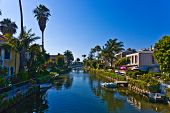 Old Canals Of Venice In California, Beautiful Living Area