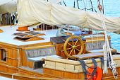 Sail Ship Wheelhouse