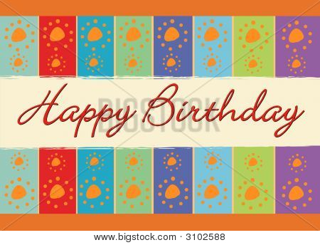 poster of Birthday Greeting Card
