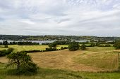 View Of Chew Valley Lake, Somerset, Uk. Chew Valley Lake Is A Large Reservoir In The Chew Valley, So poster