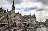 Ghent Graslei On The Waterfront