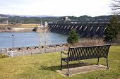 Bonneville Dam, Columbia River Gorge, Oregon.