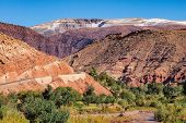 Landscape Of The Atlas Mountains In Morocco In Africa poster