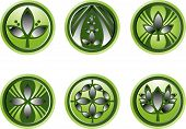 Assortment Of Green Leaf Logos