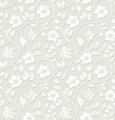 Floral seamless background - pattern for continuous replicate.