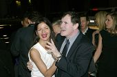 HOLLYWOOD - JANUARY 25: Jill Hennessy and Richard Kind arrive at the Los Angeles premiere of HBO's d