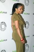 BEVERLY HILLS, CA - MARCH 9: Penny Johnson Jerald arrives at the 2012 Paleyfest