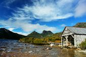 Cradle Mountain Tasmania in the alpine