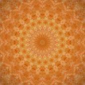 Dark Orange Mandala