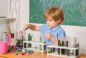 Chemistry Laboratory. Practical Knowledge Concept. Study Grants And Scholarship. Smart Children Perf poster