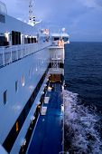 Evening Onboard, Baltic Sea