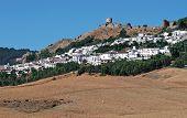 White village, Jimena de la Frontera, Spain.