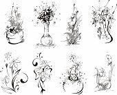 Stylistic Flower Designs