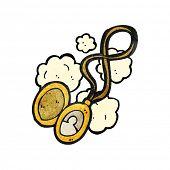 cartoon photograph locket