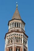 Arcivescovile Tower At Milan, Italy