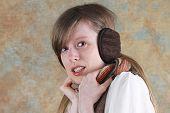 Girl With Earmuffs