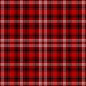 Seamless Red, White, & Black Plaid