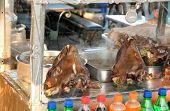Prepared Sheep Heads In Marrakech