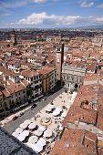 View Over The Piazza Delle Erbe