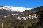 White village, Bubion, Andalusia, Spain.