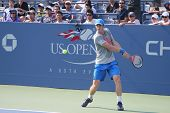 Prácticas de Andy Murray campeón de Grand Slam para el US Open