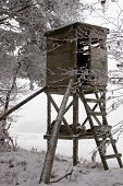 Hunting Tower at Winter