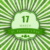 stock photo of saint patrick  - Vintage Saint Patrick - JPG