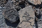 Hawaii Petroglyph Rocks