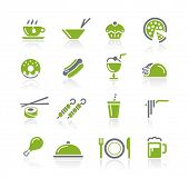 Food Icons - 2 of 2 // Natura Series