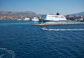 Transportation On The Sea - Large ferryboat
