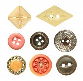 Old Sewing Buttons Collection