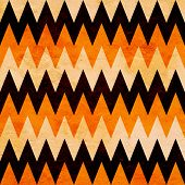 picture of neat  - abstract grunge Halloween chevron pattern in white - JPG