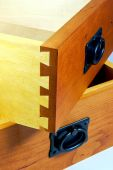 Dovetail Jointed Cherry And Maple Drawers