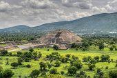Pyramid Of The Moon, Teotihucan