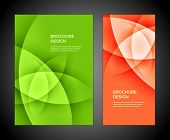 foto of geometric shapes  - Brochure business design template or banner - JPG