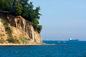 Steep Coast Cliff In Gdynia