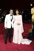 LOS ANGELES - MAR 2:: Matthew McConaughey, Camila Alves McConaughey  at the 86th Annual Academy Awar