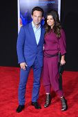 LOS ANGELES - MAR 6: Scott Waugh, wife Beth at the premiere of DreamWorks Pictures' 'Need For Speed' at TCL Chinese Theater on March 6, 2014 in Los Angeles, California
