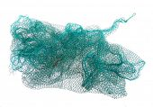 Fishing net isolated on a white background.