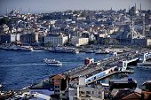 Galata Bridge And The Golden Horn