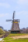 Old Windmill In The Hessenpark
