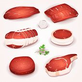 Beef Meat Set