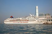 HONG KONG - DECEMBER 3: Cruise liner