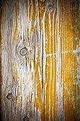 painted old wooden yellow door background