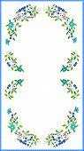 multicolor tablecloth