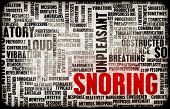 stock photo of annoying  - Snoring or Apnea as an Annoying Sleep Trait - JPG
