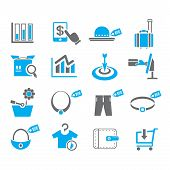 shopping and e commerce icons