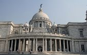 KOLKATA,INDIA - NOVEMBER 27: Victoria Memorial building in Kolkata, West Bengal, India on November 2