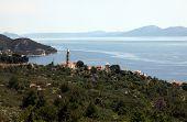 IGRANE, CROATIA - JUNE 07: The Village of Igrane, Makarska Riviera, Dalmatia, Croatia, on June 07, 2